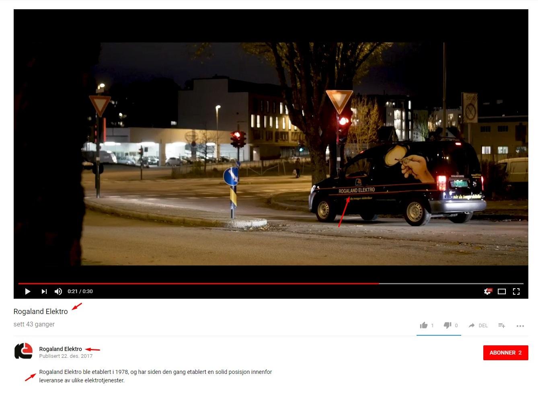 rogaland elektro på youtube