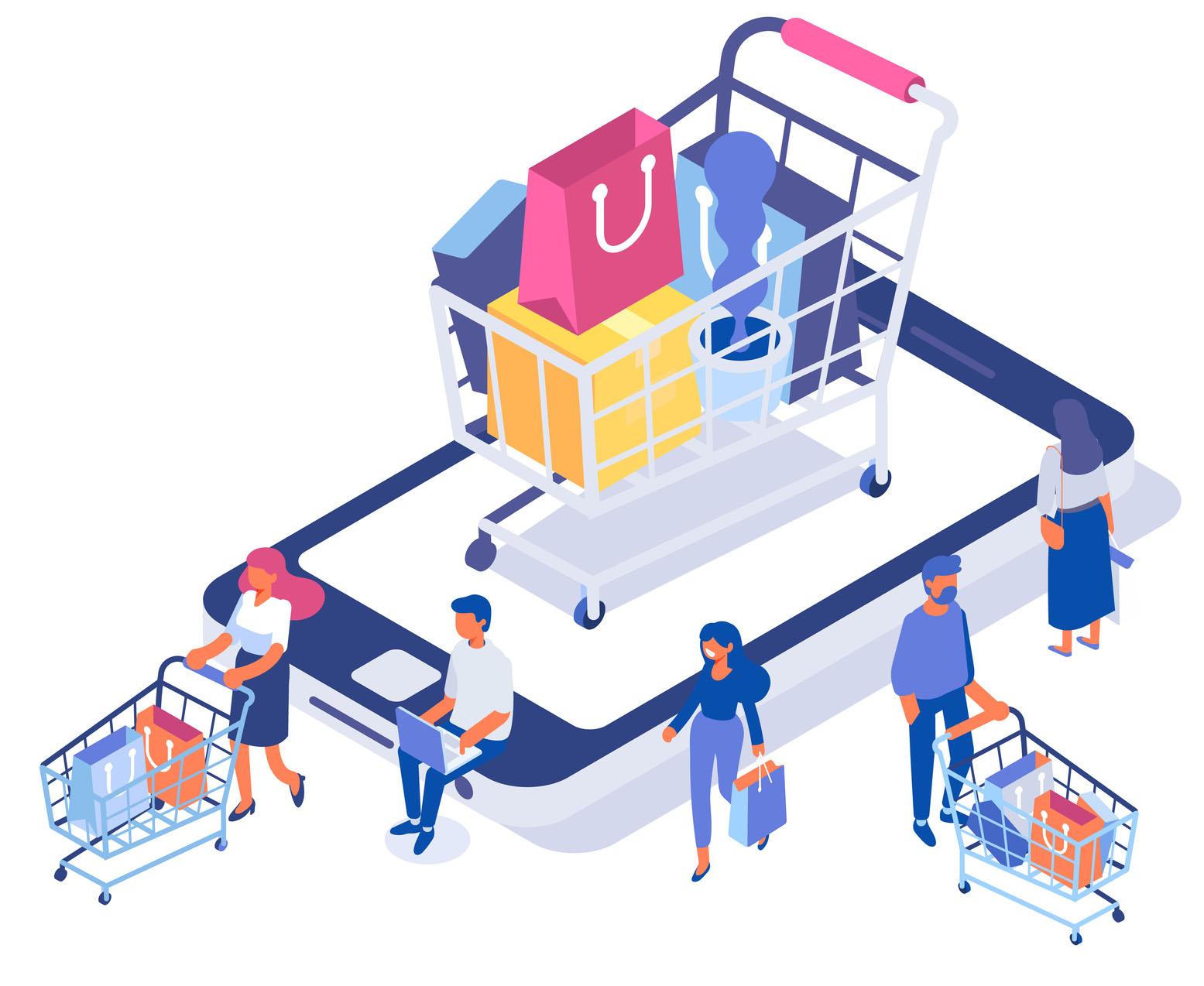 nettbutikk med betalingsløsning og lagersystem